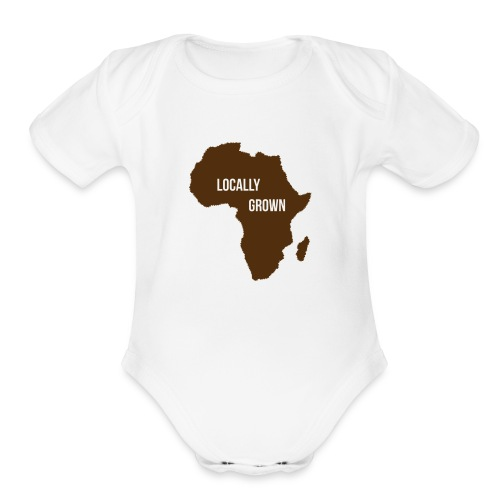 Africa Locally Grown - Organic Short Sleeve Baby Bodysuit
