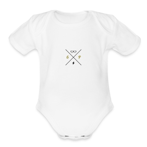 hipsterlogogenerator_1465846340834 - Organic Short Sleeve Baby Bodysuit