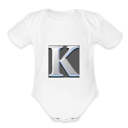 IMG 5948 - Organic Short Sleeve Baby Bodysuit
