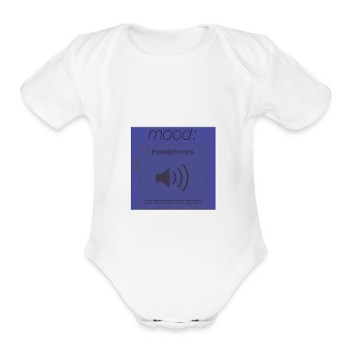 IMG 0128 - Organic Short Sleeve Baby Bodysuit