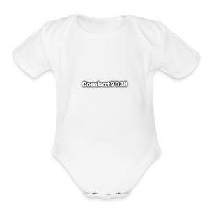 cooltext246799479885485 - Short Sleeve Baby Bodysuit