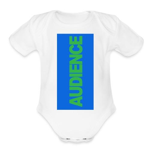 audiencegreen5 - Organic Short Sleeve Baby Bodysuit