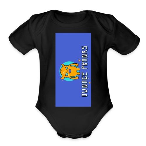 logo iphone5 - Organic Short Sleeve Baby Bodysuit