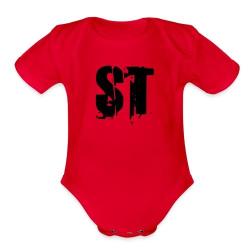 Simple Fresh Gear - Organic Short Sleeve Baby Bodysuit