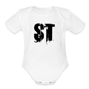 Simple Fresh Gear - Short Sleeve Baby Bodysuit
