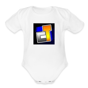 Canal do tiaguinho - Short Sleeve Baby Bodysuit