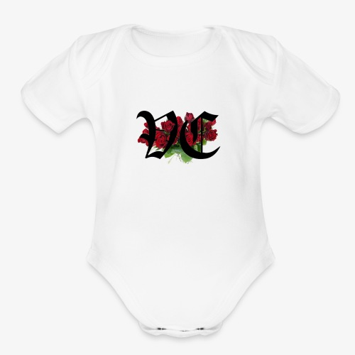 Ice's trade-mark Vaagues Clique Logo - Organic Short Sleeve Baby Bodysuit