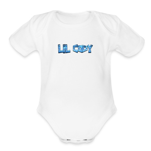 LIL CODY Merch - Organic Short Sleeve Baby Bodysuit