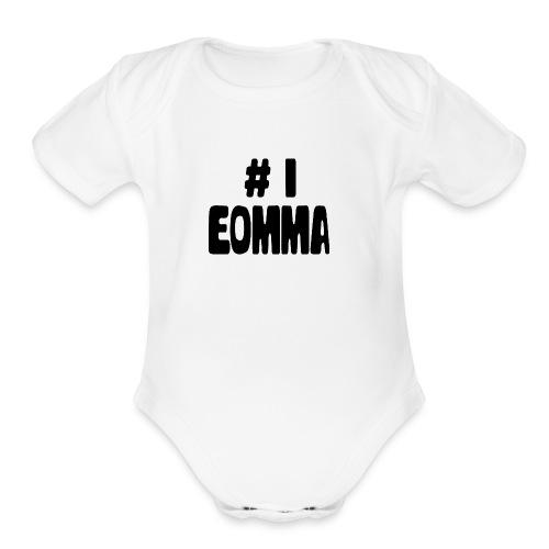 #1 Eomma - Organic Short Sleeve Baby Bodysuit