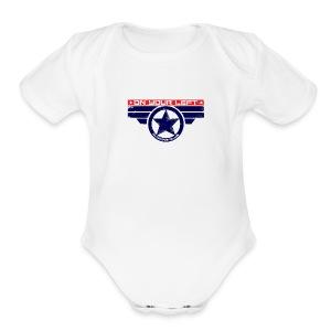 on your left - Short Sleeve Baby Bodysuit
