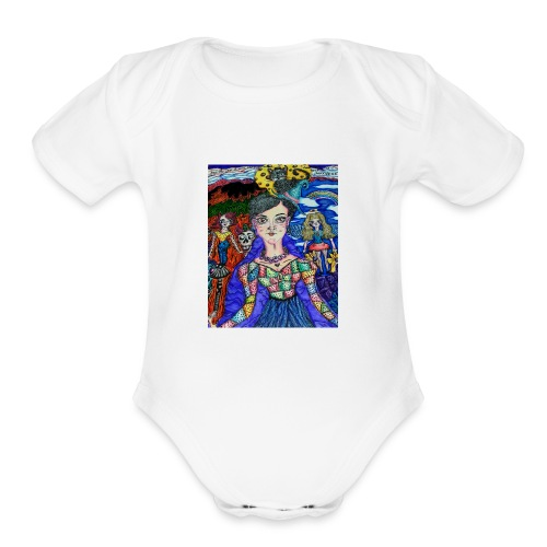 Spooky Sammie - Organic Short Sleeve Baby Bodysuit