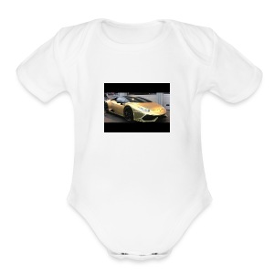 Ima_Gold_Digger - Short Sleeve Baby Bodysuit
