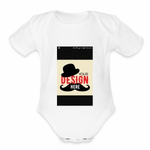COSTUMIZE YOUR CAP - Short Sleeve Baby Bodysuit