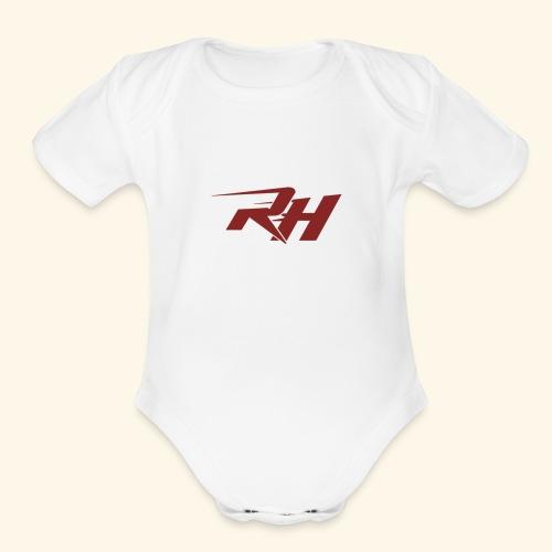 Refaat Haider - Organic Short Sleeve Baby Bodysuit