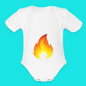 Heated Podcast - Short Sleeve Baby Bodysuit