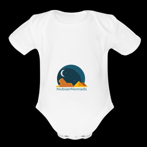 Nubian Nomads - Organic Short Sleeve Baby Bodysuit