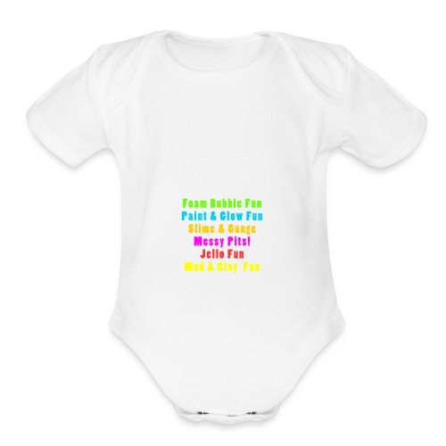 EFXP Branded Clothing - Organic Short Sleeve Baby Bodysuit