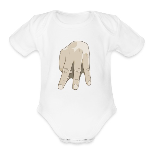 MC Gang Logo - Organic Short Sleeve Baby Bodysuit