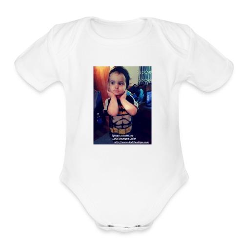 DDDs Boutique Merch - Organic Short Sleeve Baby Bodysuit