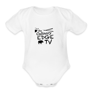 CETV Black Signature - Short Sleeve Baby Bodysuit