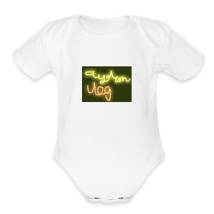 IMG 2654 - Short Sleeve Baby Bodysuit