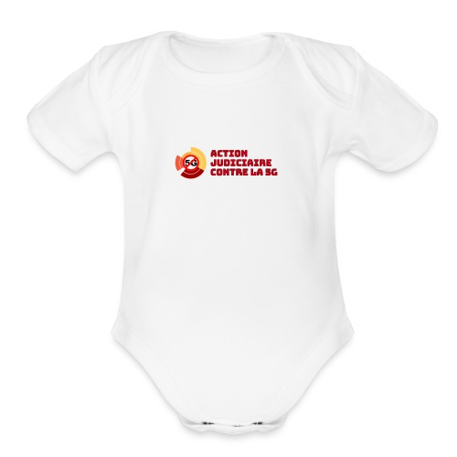 Action 5G - Organic Short Sleeve Baby Bodysuit