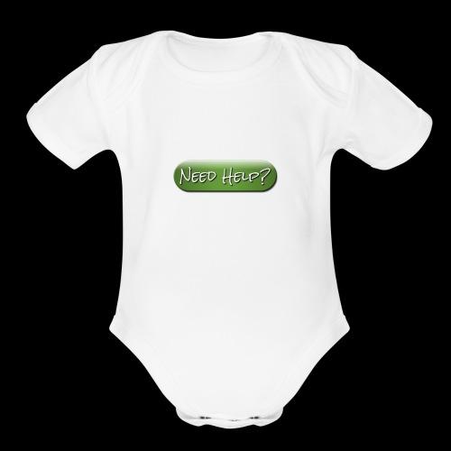 IMG 0448 - Organic Short Sleeve Baby Bodysuit