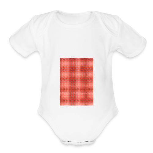 dots - Organic Short Sleeve Baby Bodysuit