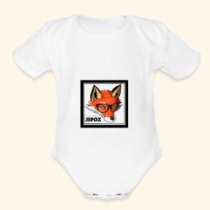 JBFox - Short Sleeve Baby Bodysuit