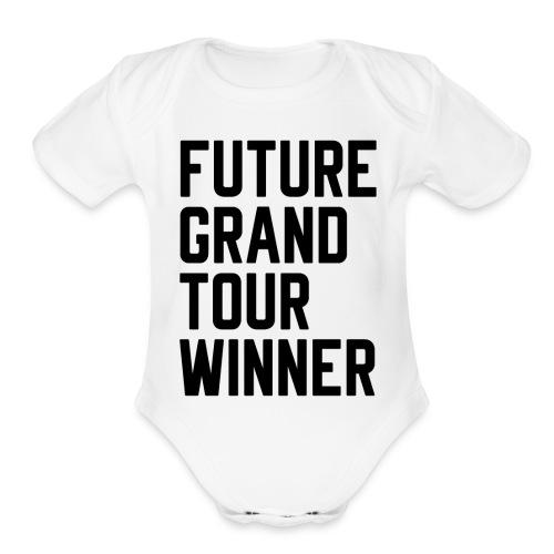 Future Grand Tour Winner - Organic Short Sleeve Baby Bodysuit
