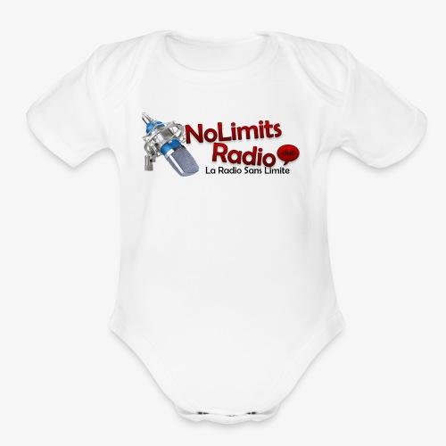 NolimitRadio - Organic Short Sleeve Baby Bodysuit