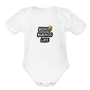 BenosBuenos Life - Short Sleeve Baby Bodysuit
