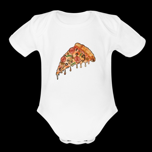 THE Supreme Pizza - Organic Short Sleeve Baby Bodysuit