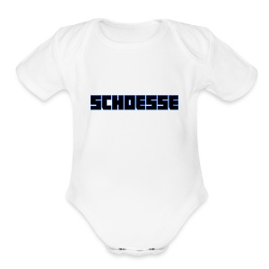 Channel_Name_edited_1 - Short Sleeve Baby Bodysuit