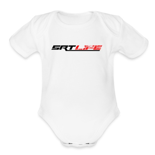 srt2black - Organic Short Sleeve Baby Bodysuit