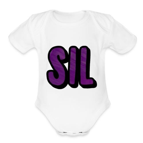 Sil - Organic Short Sleeve Baby Bodysuit