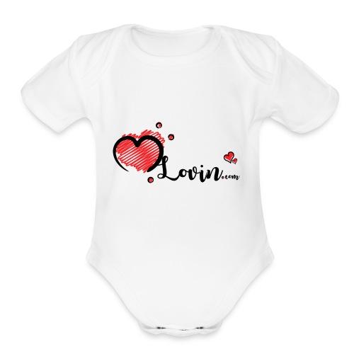 Our MLovin Design - Organic Short Sleeve Baby Bodysuit