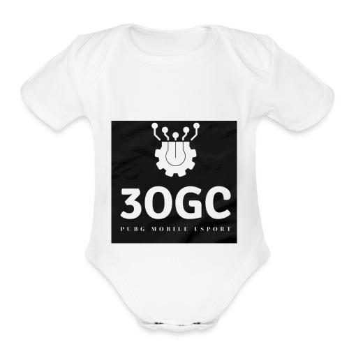 3OGC PUBG mobile - Organic Short Sleeve Baby Bodysuit