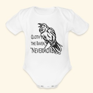 Raven - Short Sleeve Baby Bodysuit