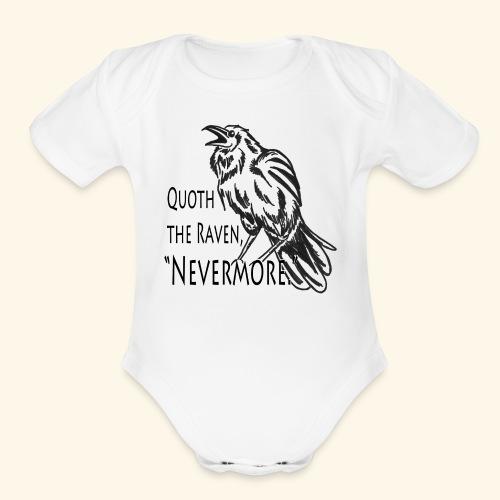 Raven - Organic Short Sleeve Baby Bodysuit