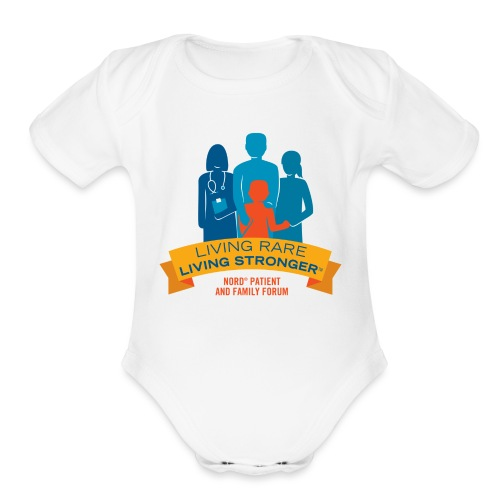 LRLS Logo - Organic Short Sleeve Baby Bodysuit