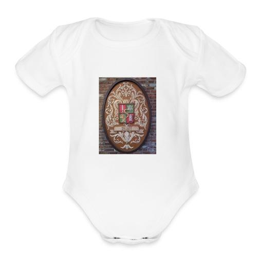 Pabst Crest - Organic Short Sleeve Baby Bodysuit