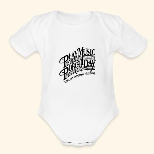 shirt3 FINAL - Organic Short Sleeve Baby Bodysuit