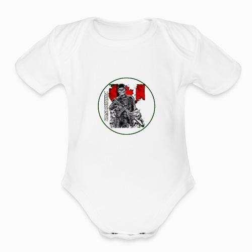 saskhoodz canada - Organic Short Sleeve Baby Bodysuit