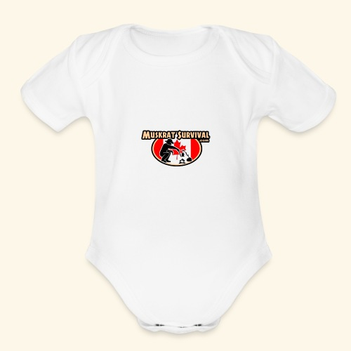 Muskrat Badge 2020 - Organic Short Sleeve Baby Bodysuit