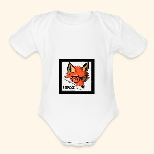 JBFox - Organic Short Sleeve Baby Bodysuit