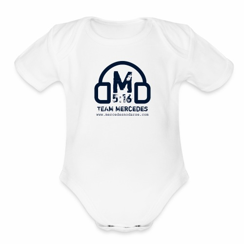 Team Mercedes - Organic Short Sleeve Baby Bodysuit