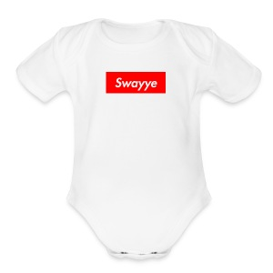swayyepreme - Short Sleeve Baby Bodysuit