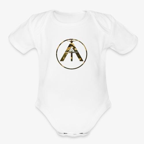 A-Team Brand - Organic Short Sleeve Baby Bodysuit