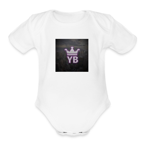 Yoke Boys - Organic Short Sleeve Baby Bodysuit